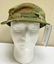 ARMY RIPSTOP OCP CAP MULTICAM PATROL CAP COVER SIZE 7 1/2 PC HAT NWT 8935