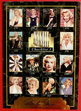 """Sports Time Inc."" MARILYN MONROE Card # 198 individual card, issued in 1995"