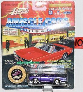 Johnny Lightning Muscle Voitures Séries 1 1970 Super Abeille Violet