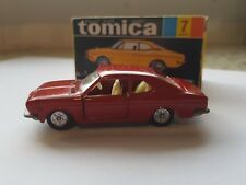Tomica - #7  - Honda 1300 Coupe 9 [near mint / original but with repro box]