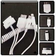 4in1 Car Charger Lightning to car charger Reversible Desing for ipad /4G/4S/P100