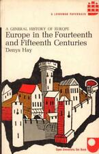 Europe In The Fourteenth And Fifteenth Centuries(Paperback Book)Deny-Acceptable