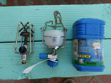 NOS Gaz camping lantern # 270 and a used Gaz stove