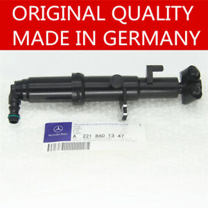 Left Driver Headlight Headlamp Washer Nozzle Fit Mercedes-Benz W221 S400 S550