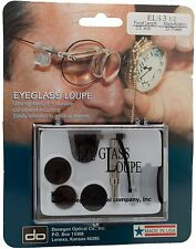 "Donegan ELS 3-1/2 Eyeglass Single Loupe Kit 3X Magnification at 3.5""Focal Length"