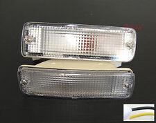 Clear Lens Front Bumper Indicator Light Lamp TOYOTA HILUX MK3 LN105 YN106 89-96