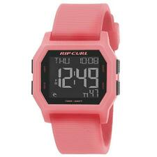 Rip Curl SONIC DIGITAL Silicone Band Waterproof Surf Watch New - A2729G Peach