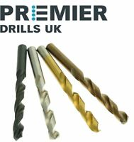 10 x Professional HSS Jobber Drill Bit - Rolled,Ground,TIN,Cobalt - High Quality