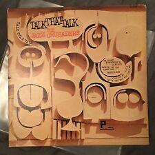the Jazz Crusaders ~ Talk That Talk ~ 1966 Mono Promo LP ~ Hard Bop/Soul Jazz