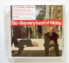 Moby - Go - The Very Best Of Moby - 2006 ENHANCED UK CD+DVD - Mute - LCDMUTEL14