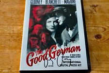 THE GOOD GERMAN Movie Press Kit SIGNED AUTOGRAPH GEORGE CLOONEY