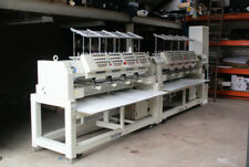 2x Brother BE-1204-B BC PC Embroidery machine (EXCHANGE single head possible)