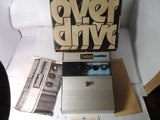 VINTAGE SYSTECH OVERDRIVE EFFECTS PEDAL w/ORIGINAL BOX AND DOCS RARE OD