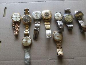 Vintage Bulk Watch Collection - parts or restoration - Seiko etc