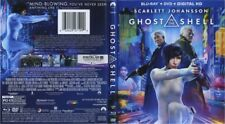 Ghost in the Shell  (Blu-ray/DVD, Includes Digital HD) 2017 2-disc