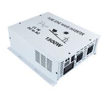 1500W Pure Sine Wave Inverter 36/48V DC to 120/220/230V AC Solar Power Inverter