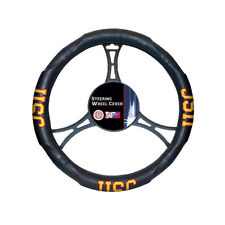 New NCAA USC Trojans Synthetic Leather Car Truck Steering Wheel Cover