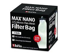 Red SEA grana fine FILTRO MAX-Nano 225 micron 2 PEZZI FILTRO BAG