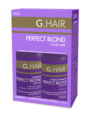 G HAIR PERFECT BLOND TREATMENT 8.4 oz (250ml) KIT