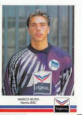 Marco Sejna Hertha BSC Berlin 1991-92 Top AK +a44030 ou