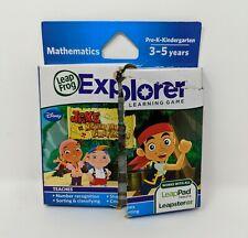 LeapFrog Explorer Jake and The Never Land Pirates Learning Game *DAMAGED BOX*