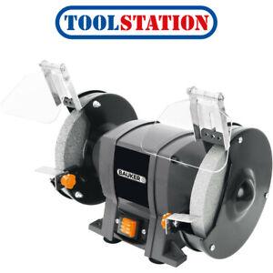 """Bauker 350W 200mm/8"""" Bench Grinder 230V"""