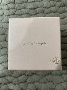 100% Auth Van Cleef & Arpels Ring Brachlet Box Pouch, Green Suede Only