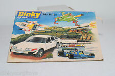 DINKY TOYS CATALOGUE KATALOG 1978 ENGLISH EXCELLENT CONDITION