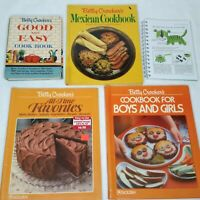 Betty Crocker Lot of 5 Cook Books Vintage Good And Easy Favorite Recipe Cookbook