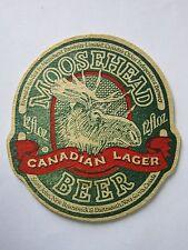 Beer Coaster ~*~ MOOSEHEAD Breweries Canadian Lager ~*~ Various CANADA Locations