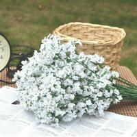 Home Wedding Decor Artificial Fake Babys Breath Gypsophila Silk Flowers Bouquet