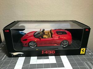 1:18 Hot Wheels Elite Ferrari F430 Spider