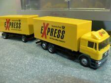 1/87 Herpa MAN F2000 Deutsche Post Express Wechselkoffer HZ 243438
