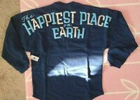 Disneyland 65th Anniversary Happiest Place On Earth Spirit Jersey XS Blue Disney