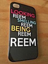 Gel TPU goma caso cubierta de piel para Apple iPhone 4 4S diseño de aspecto Reem Towie