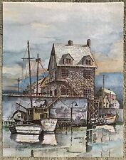 """Christopher Paul Bollen """"Quarry Landing"""" Signed And Numbered Limited Ed."""