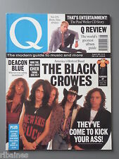 Q Music Magazine August 1991, The Black Crowes/Cher/Stone Roses/The Chieftans