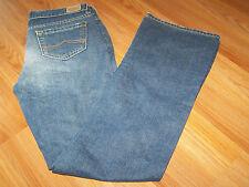 Size 4 Regular Old Navy Denim Blue Jeans Boot Cut Ultra Low Waist Worn Once EUC