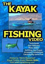 The Kayak Fishing Video - Dennis Spike DVD