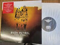 Snow Patrol – FINAL STRAW LP Vinyl Record Indie