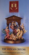 Franklin Mint The Vatican Creche Nativity Set