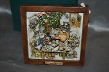 Harmony Kingdom Picturesque Tile Ruffian's Revenge with Box