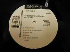 Billy Joel-Streetlife Serenader Japan Import White Label Promo w/Booklet/Insert