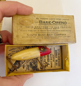 Vintage South Bend Babe Oreno Lure GE In Correct Box