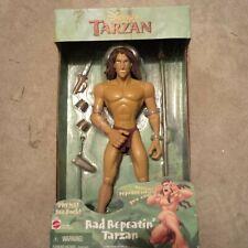 Disney Tarzan Rad Repeatin Tarzan Doll Toy Vintage Mattel Rare 1999 NIB