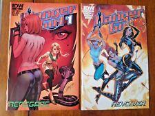 Danger Girl: Renegade #1 Revolver #1 lot IDW J. Scott Campbell VFN/VFN+