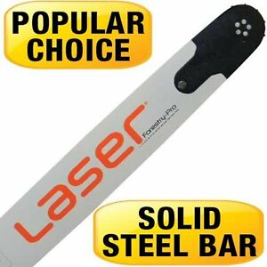 """LASER Chainsaw Bar 24"""" Forestry Pro 3/8 Pitch 050 Gauge & 84 Drive Links"""