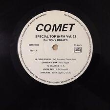 TONY BRAM'S - SPECIAL TOP 10 FM VOL.22 - COMET -  VG+/EX - N° 1168 - LP 33 TOURS