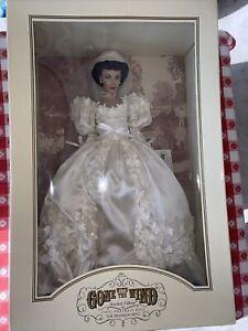 Franklin Mint Gone with the Wind Portrait Scarlett O'Hara Bride Doll.