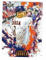 2016 Topps Update FIRE #F-5 CARLOS CORREA Houston Astros QTY AVAILABLE